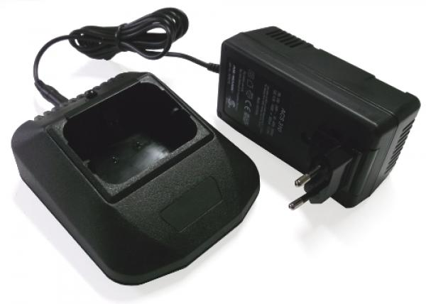 Charger 100-240V AC for Hetronic Mini with Ansmann power adapter