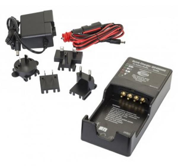 Battery charger set (QS4050B0) inkl. AC and DC plug