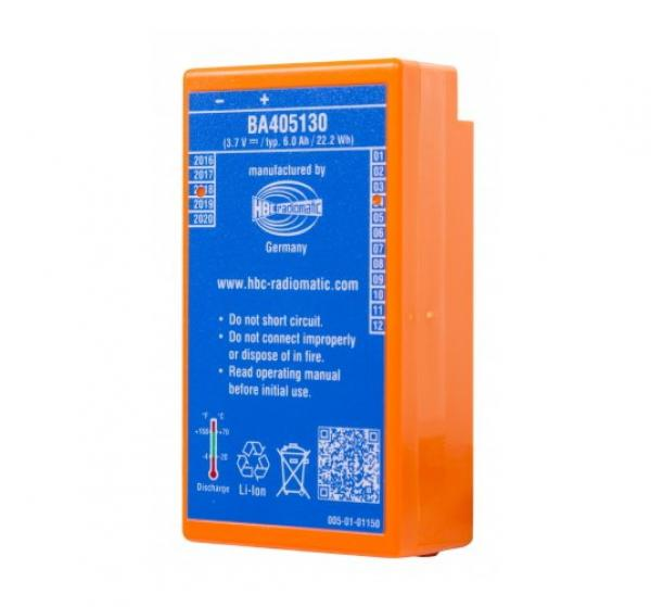 Lithium ion battery BA405131 (old: BA405130) 3,6 V, 6,4 Ah with filling level indicator